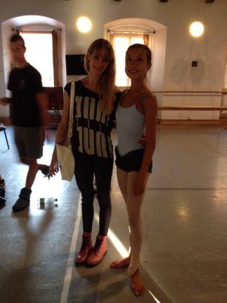 Tala at Prague International Ballet Masterclasses with Alicia