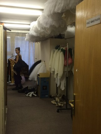 The costume department at the Bolshoi Ballet Academy