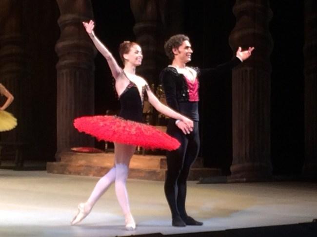 Tala Lee-Turton Bolshoi Ballet Academy - dance performance