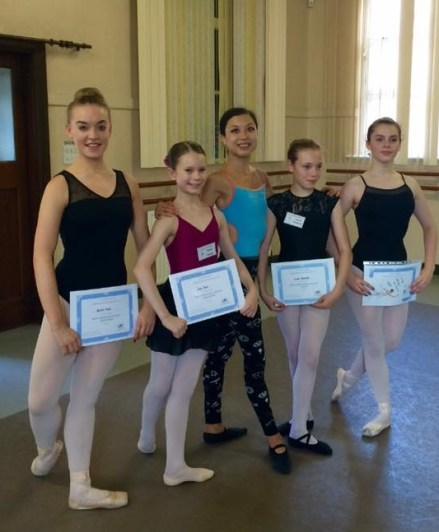 Tala Lee-Turton Masterclasses young russian ballet dancers - awards