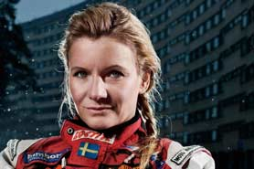 Annie Seel - Rallyförare som talar om mod