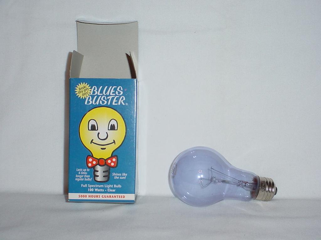 Blues Buster Light Bulb
