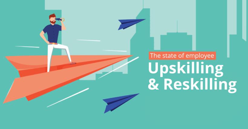 Survey: The State of Employee Reskilling & Upskilling Training