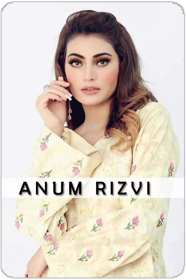 Pakistan Female Anum Rizvi