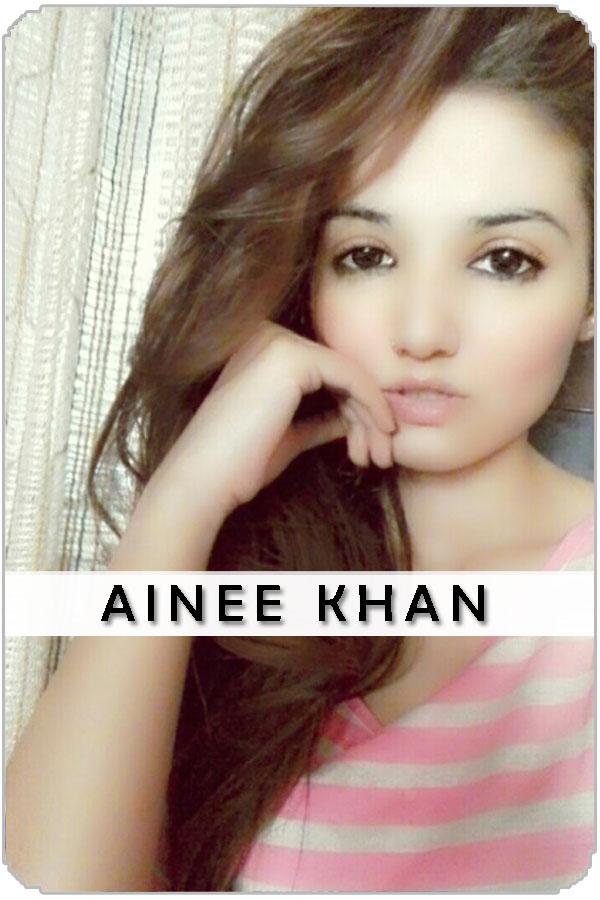Pakistan Female Model Ainee khan