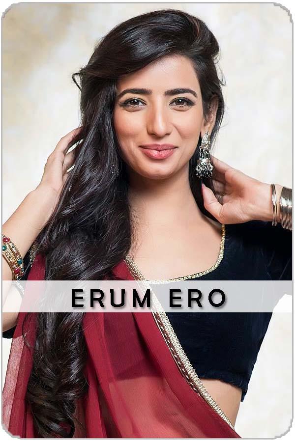 Pakistan Female Model Erum Ero