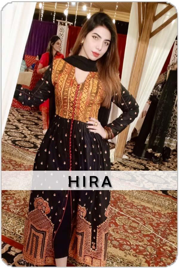 Pakistan Female Model Hira