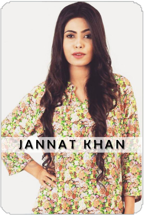 Pakistan Female Model Jannat Khan