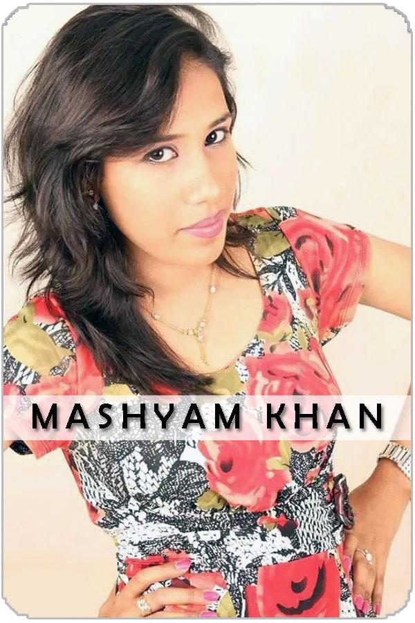 Pakistan Female Model Mashyam Khan