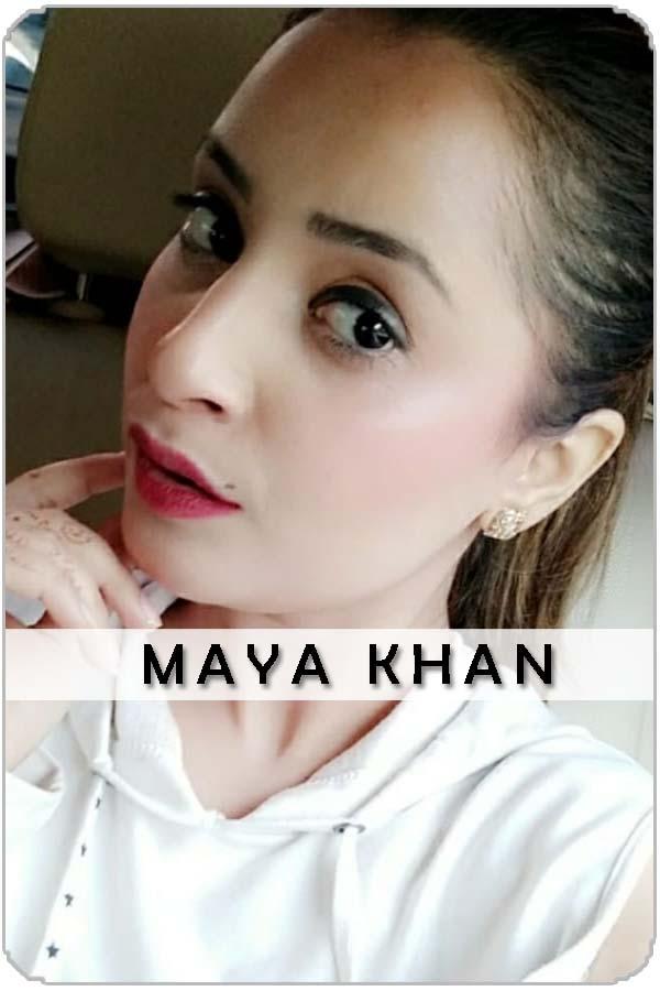 Pakistan Female Model Maya Khan