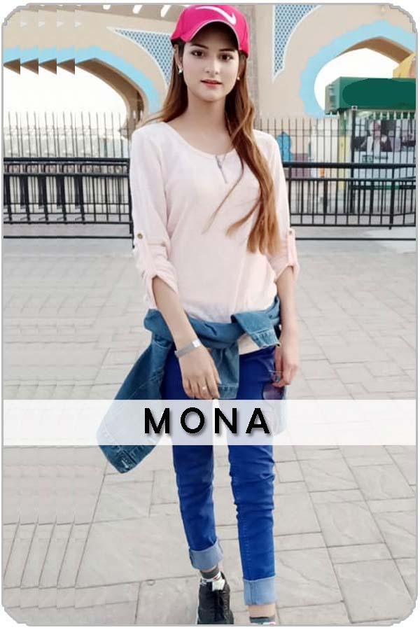 Pakistan Female Model Mona