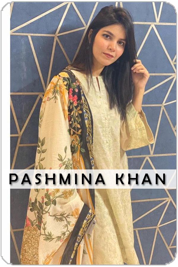 Pakistan Female Model Pashmina Khan