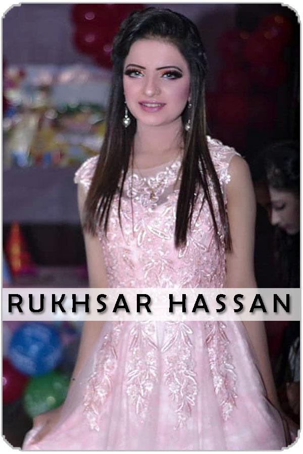 Pakistan Female Model Rukhsar Hassan