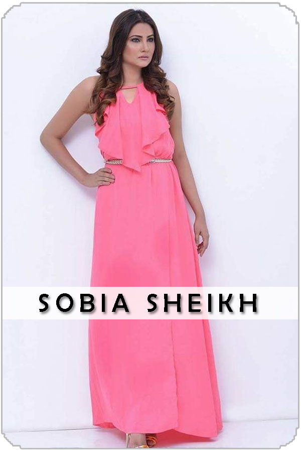 Pakistan Female Model Sobia Sheikh