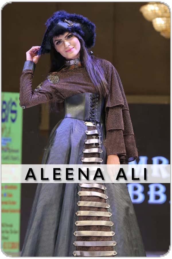 Pakistan Female Model aleena ali