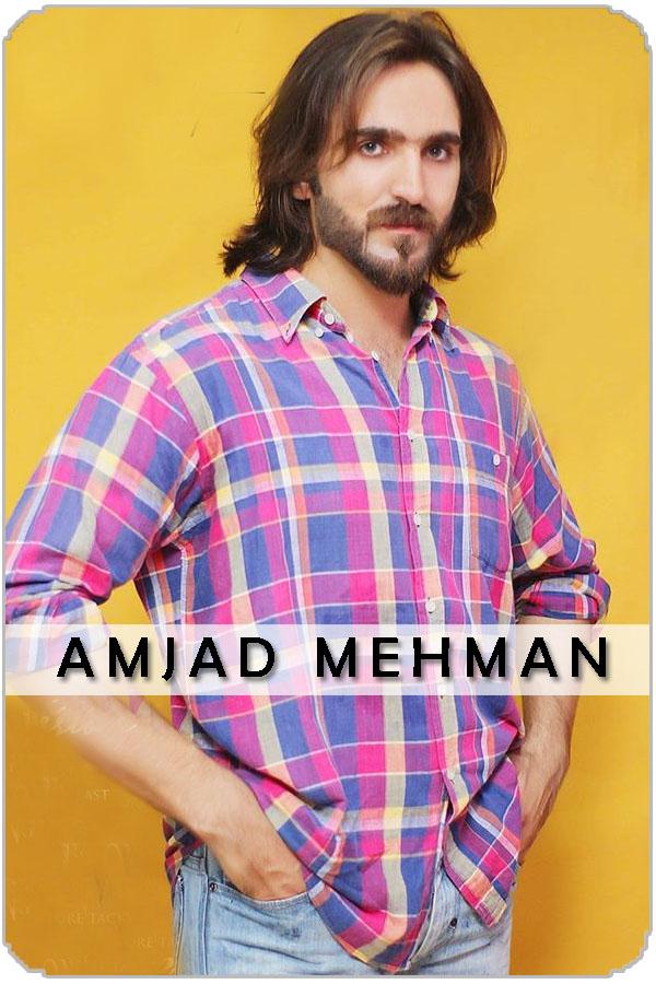 Pakistan Male Model Amjad Mehman