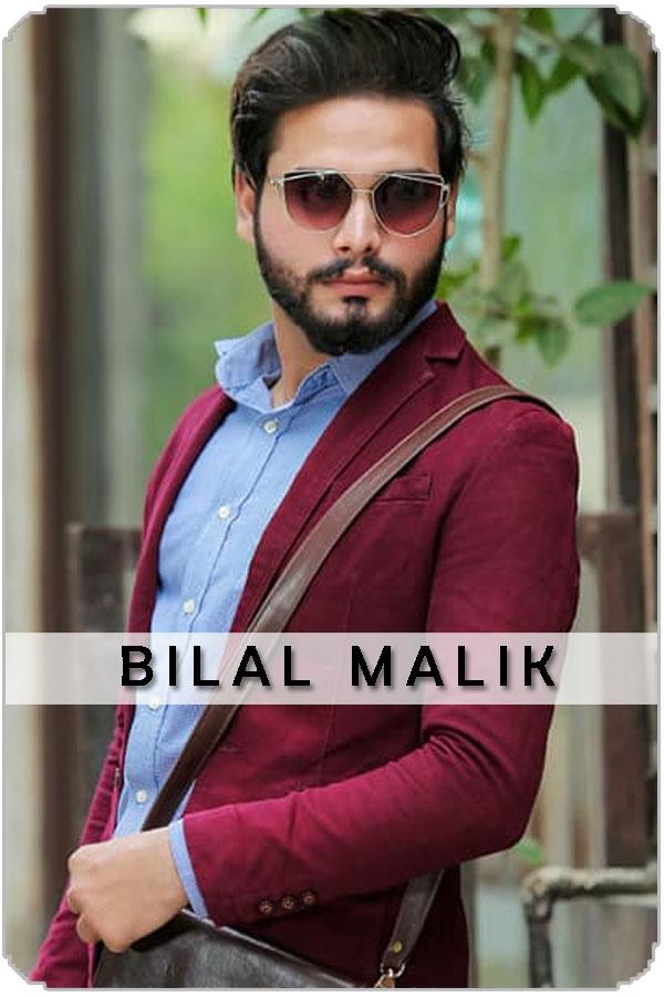 Pakistan Male Model Bilal Malik