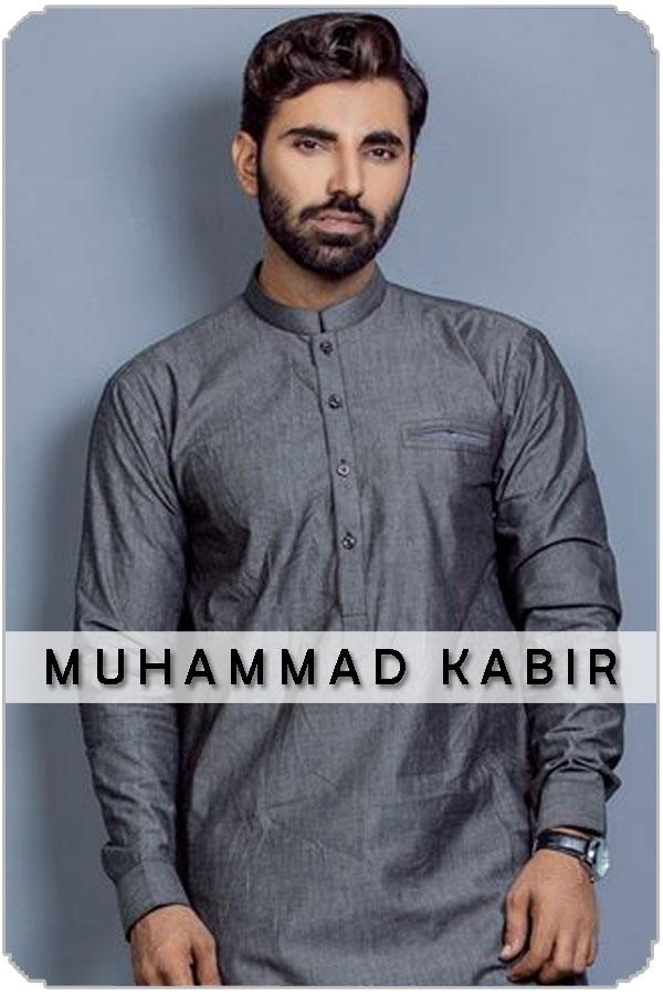 Pakistan Male Model Muhammad Kabir