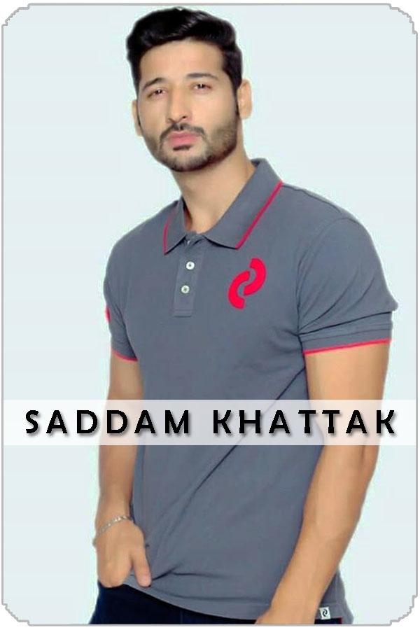 Pakistan Male Model Saddam Khattak