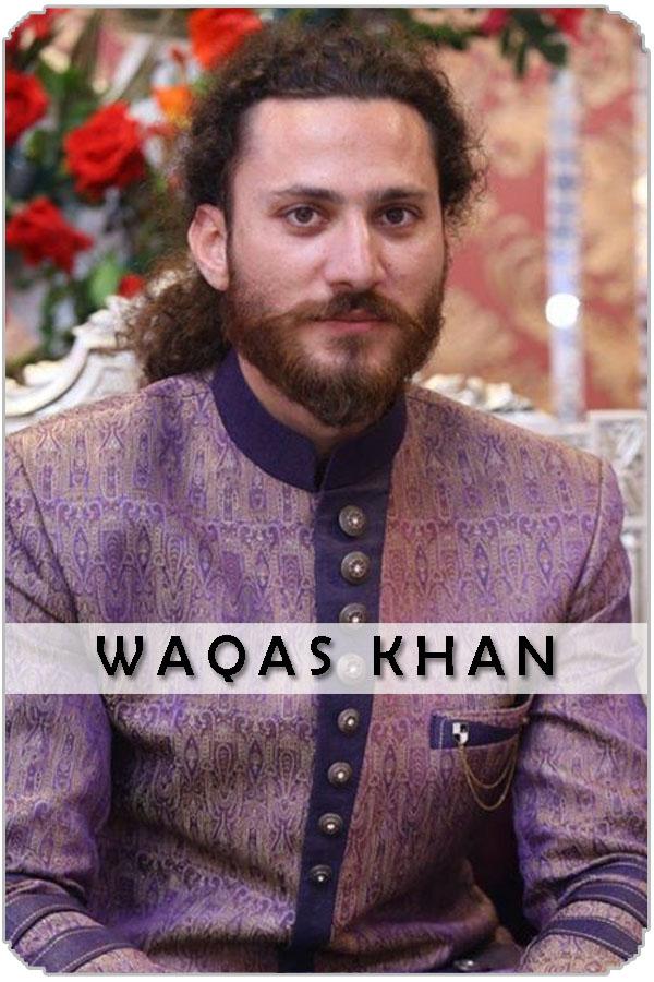Pakistan Male Model Waqas Khan