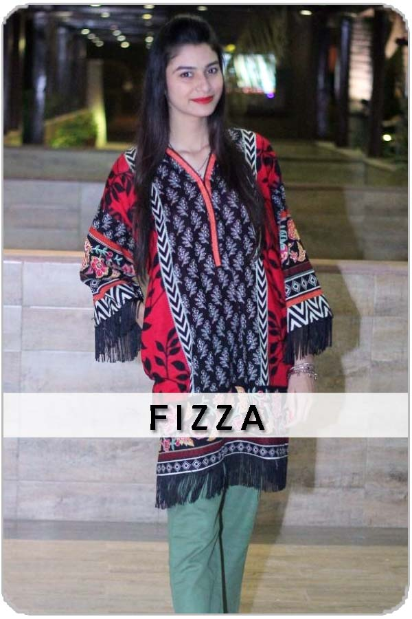 Pakistani Female Model Fizza