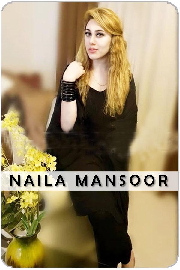 Pakistani Female Model Naila Mansoor
