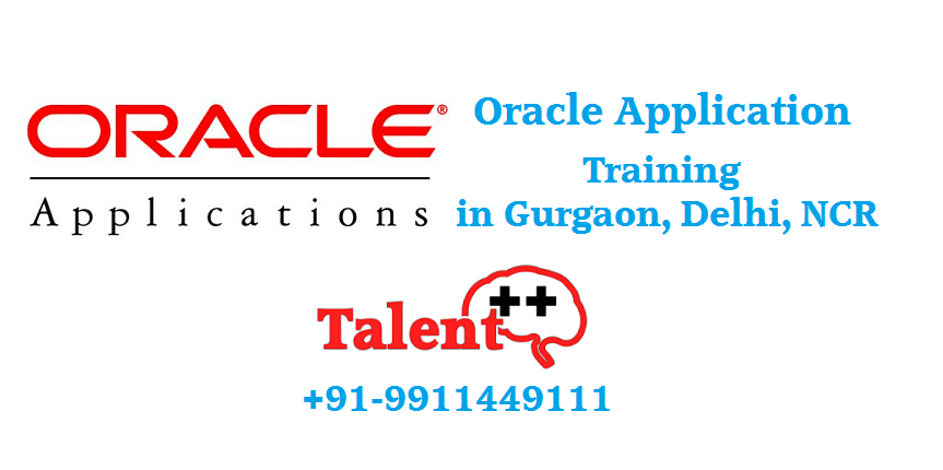 Oracle Apps Technical Training in Gurgaon Delhi NCR