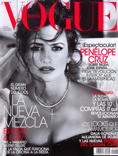 Portada Vogue Penelope- Pablo Iglesias
