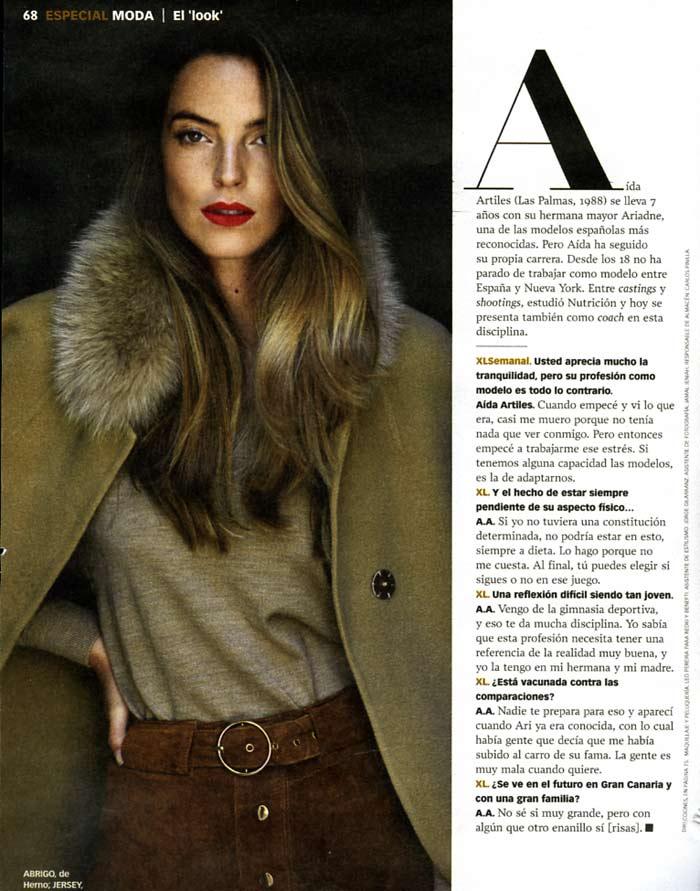 XL Semanal Aida Artiles – Leo Pereira