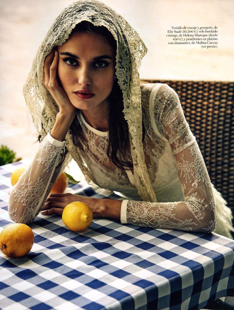 Vogue Novias Blanca Padilla