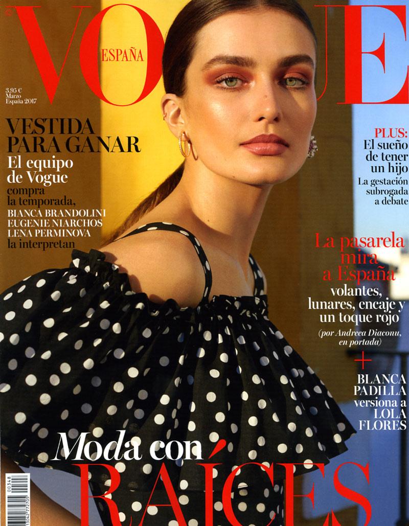 Vogue Marzo Portada – David Carreiro