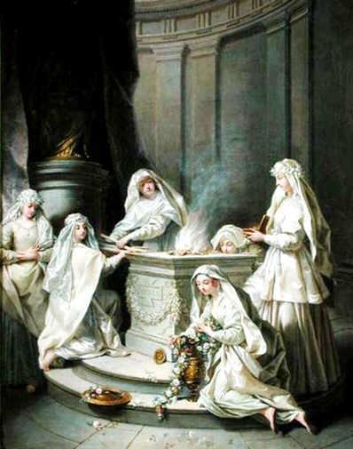Picture of the Vestal Virgins
