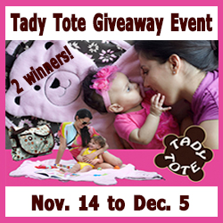 Enter to win a Tady Tote! Ends 12/5