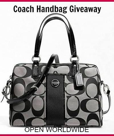 Enter the #COACH Handbag Giveaway! Ends 12/18