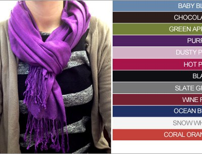 *New Deal* Pashmina Scarf for just $7 (Reg $25)