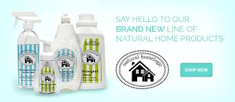 Natural Home Logic Natural Cleaners {Review & Giveaway details}