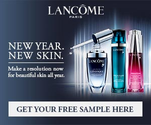 *New Year. New Skin. LANCOME Beauty Samples!*