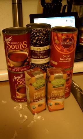 Alison's Gluten Free Organic Chicken Tortilla Soup!