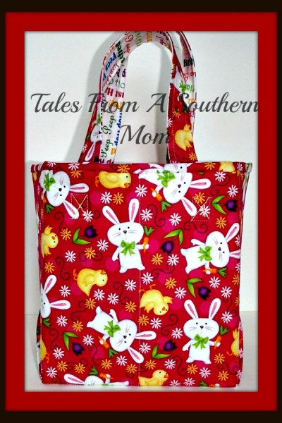 Crystal Threads Easter Tote Bag!