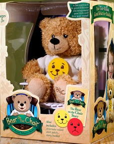 The Bear on the Chair giveaway! 09/26