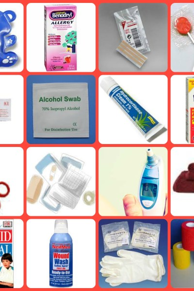 20 Things to Have in a Toddler First Aid Kit