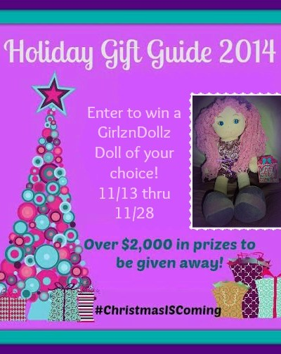 GirlznDollz Soft Cuddly Doll Giveaway!