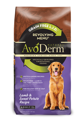 #AvoDermNaturals Revolving Menu has made a difference in my dog!