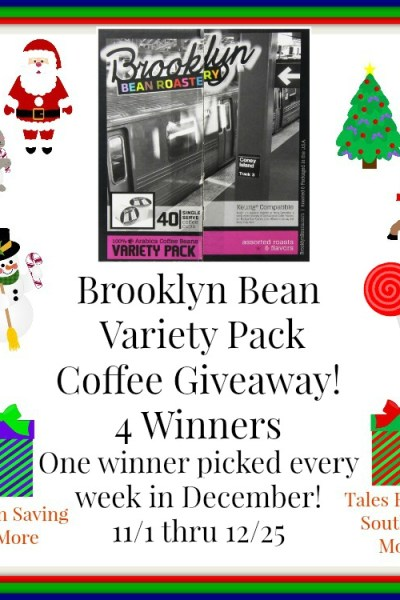 Brooklyn Beans Variety Pack Coffee Giveaway 12/25