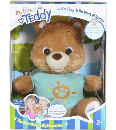 My Friend Teddy, The Interactive Teddy Bear!