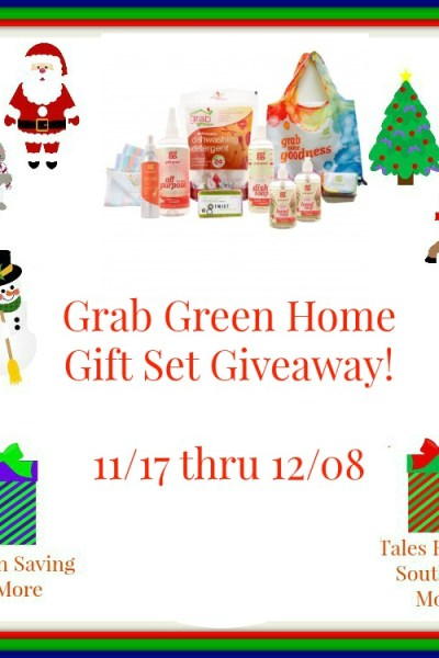 Grab Green Home Gift Set Giveaway 12/8