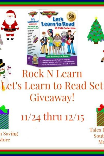 Rock N Learn Learn to Read Set Giveaway 12/15
