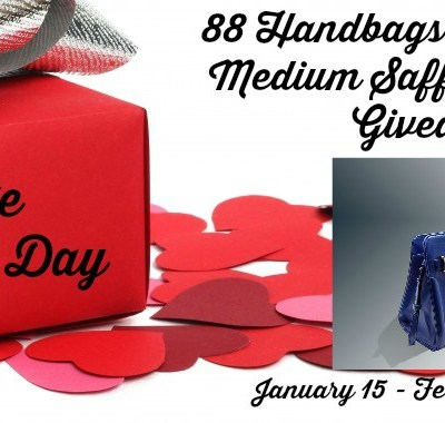 Kate Cobalt Satchel Bag Giveaway 02/14