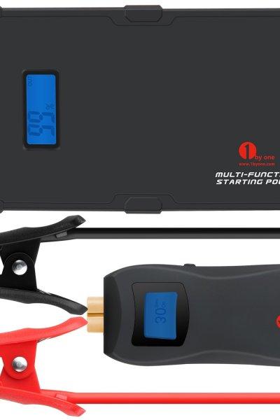 Multi-Function Smart Portable Car Jump Starter Powerbank