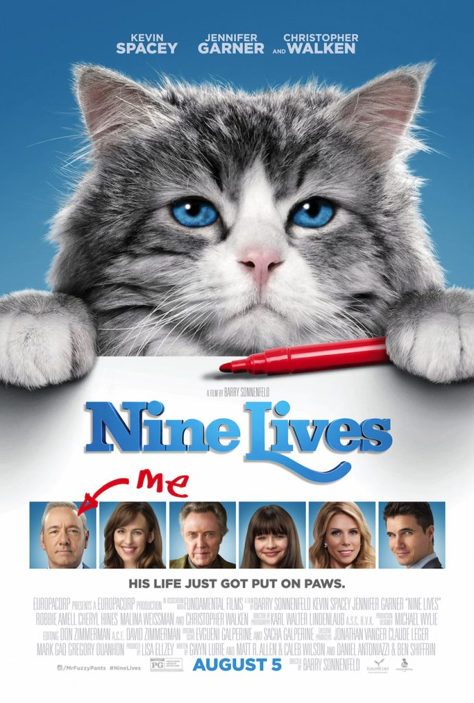Nine Lives Giveaway Ends 8/15